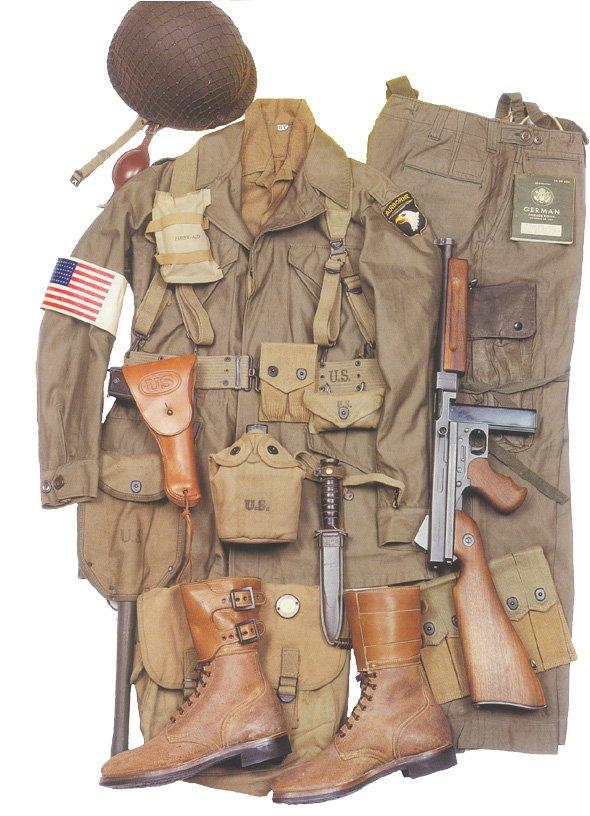 Uniformes : Le para US Normandie 1944 dans UNIFORMES 101ab